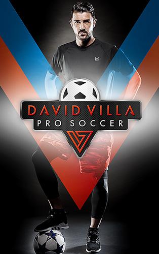 David Villa pro soccer Screenshot