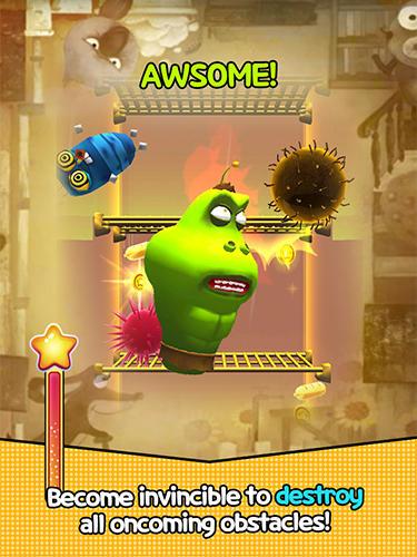 Flying larva Screenshot