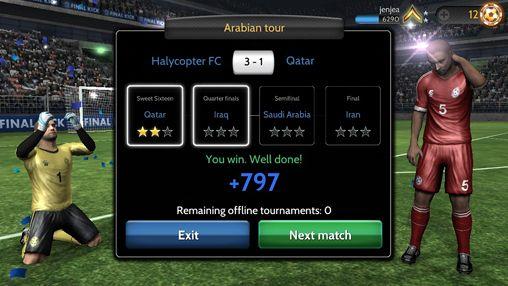 Скріншот Final Kick: The best penalty shots game на iPhone