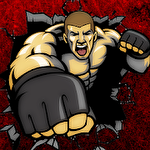 Gangster clash: Mafia fighter icon