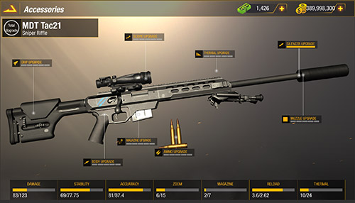 Удар пули: Снайпер на русском языке