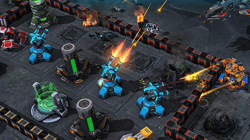 Galaxy control: 3D strategy für Android