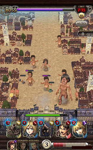 Attack on titan: Tactics for Android