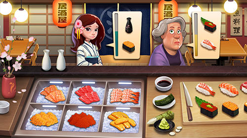 Captura de pantalla Cocina alegre: Fiebre de cocinero en iPhone