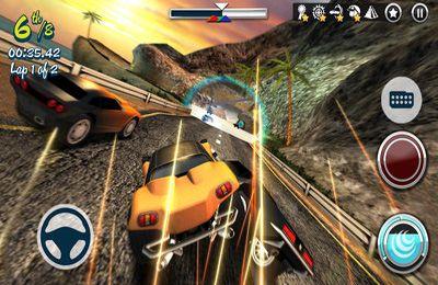 Мультиплеер игры: скачать Carnage Racing на телефон