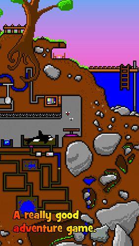 Jogos de arcade: faça o download de Pequenas cavernas: A Lenda da princesa Pixel para o seu telefone