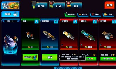 Action Monster Shooter 2: Back to Earth for smartphone