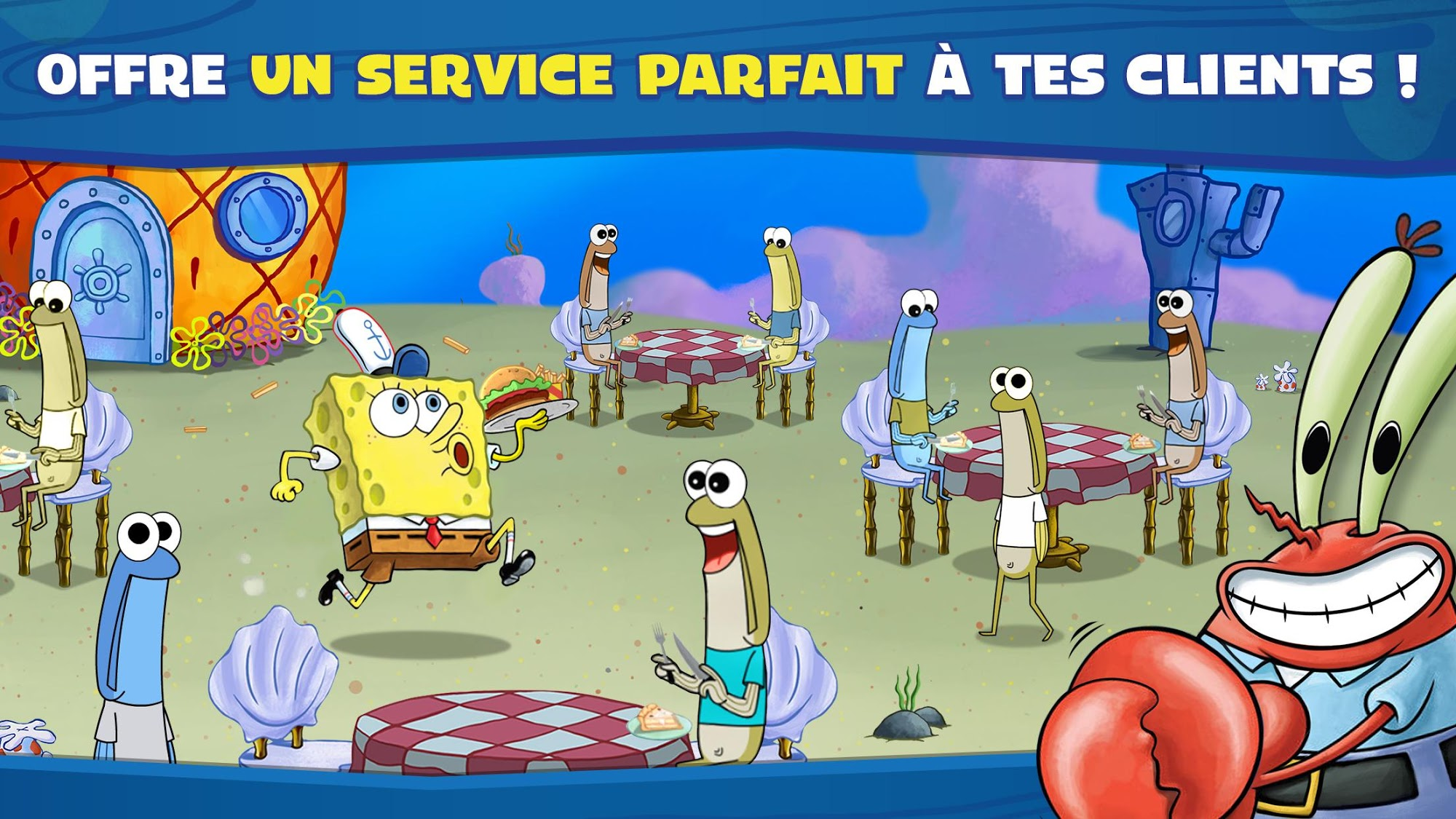 SpongeBob: Krusty Cook-Off pour Android