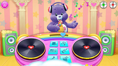 Musik-Spiele Care bears music band auf Deutsch