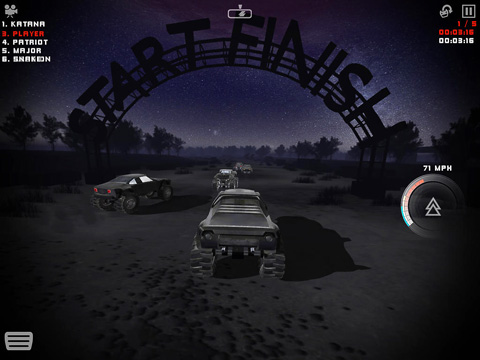 Uber Racer 3D Monster Truck: Alptraum für iPhone