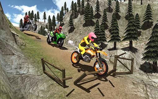Moto racer dirt 3D auf Deutsch