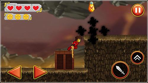 Ninja toy warrior: Legendary ninja fight Screenshot