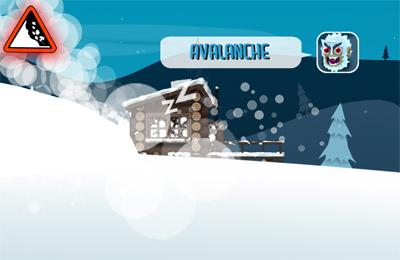 Le Safari de Ski en russe