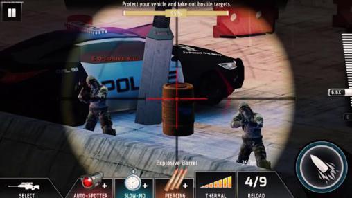 Actionspiele Kill shot: Bravo für das Smartphone