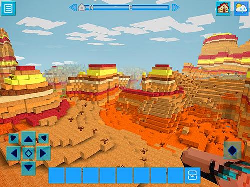 Actionspiele Raptorcraft: Survive and craft für das Smartphone