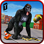 Ultimate gorilla rampage 3D icon