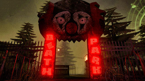 Action Death park: Scary clown survival. Halloween horror for smartphone
