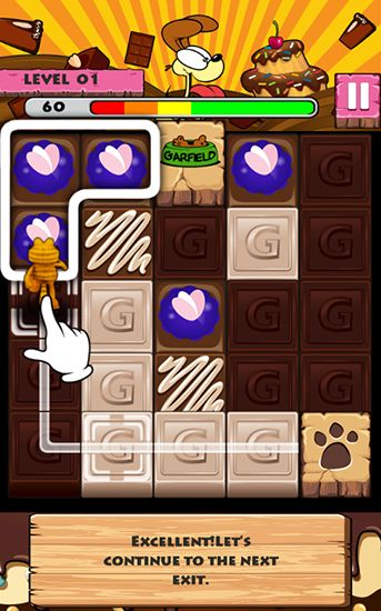 Garfield's puzzle buffet for Android