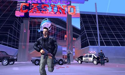 Shooter: spiel Grand Theft Auto III für BlackBerry
