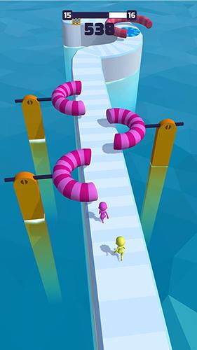 Fun race 3D captura de pantalla 1