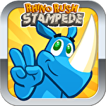 Rhino rush: Stampede icono