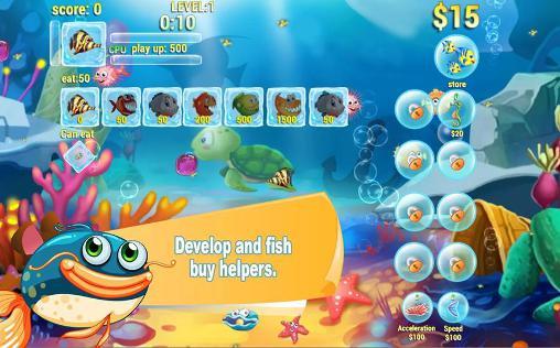 Arcade Hungry fish eat HD für das Smartphone
