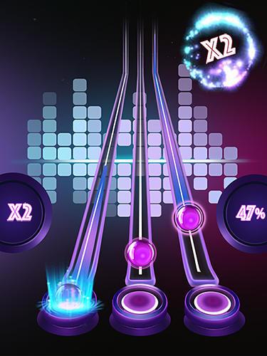 Musik-Spiele Tap tap reborn auf Deutsch