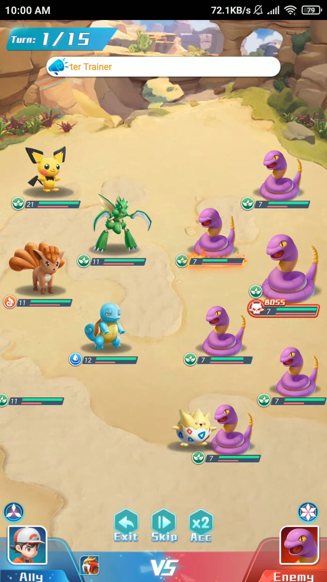 Idlemon Tales скриншот 1