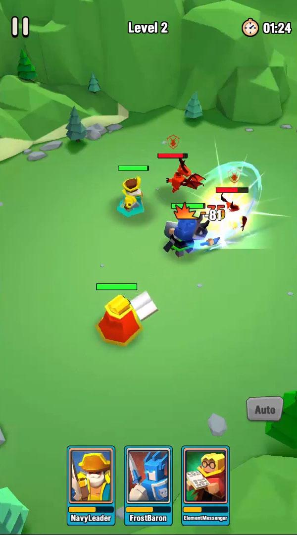 Art of War: Heroes скриншот 1