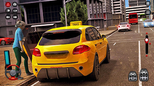 Fahrsimulatoren New York taxi driving sim 3D auf Deutsch