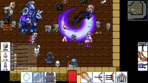 RPG Dawn of warriors for smartphone