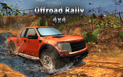 SUV 4x4 offroad rally driving capture d'écran 1