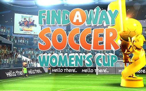 Иконка Find a way soccer: Women's cup