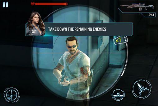 Captura de tela Assassino de contrato: Atirador no iPhone