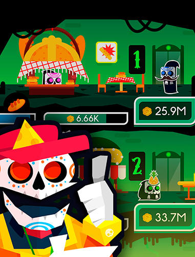 Death tycoon: Idle clicker and tap to make money! auf Deutsch