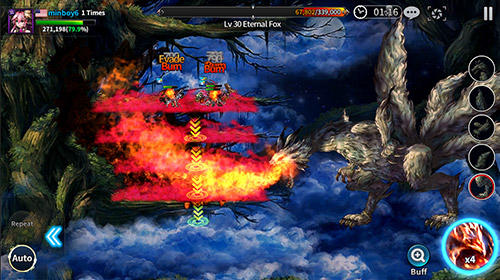 Strategie RPG Final blade auf Deutsch
