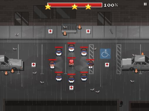 Arcade-Spiele Defend your turf: Street fight für das Smartphone