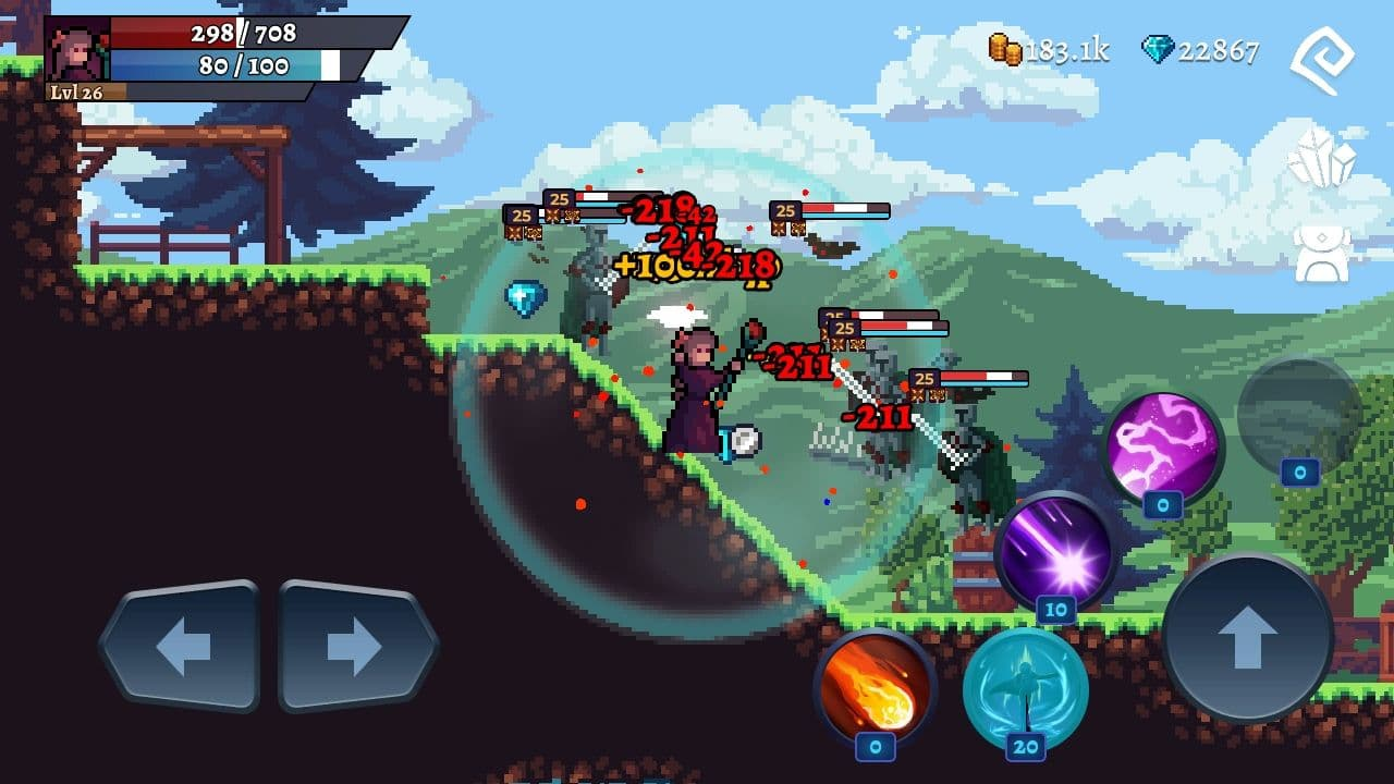 Darkrise - Pixel Classic Action RPG for Android