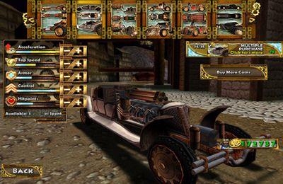 Shooters Steampunk Rennen 3D auf Deutsch