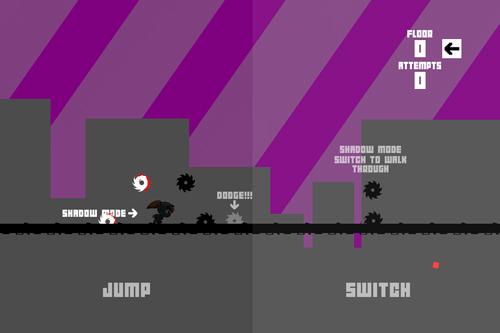 Arcade-Spiele: Lade Shadow Glitch 2 auf dein Handy herunter