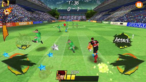 Arcade Football king rush for smartphone