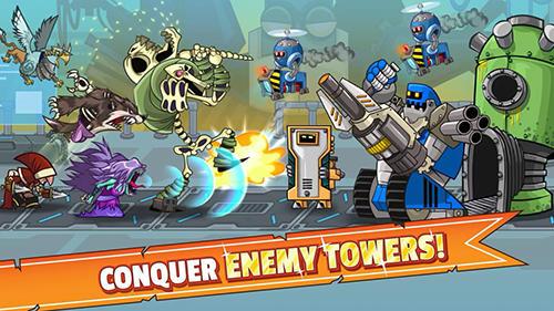 Tower conquest auf Deutsch