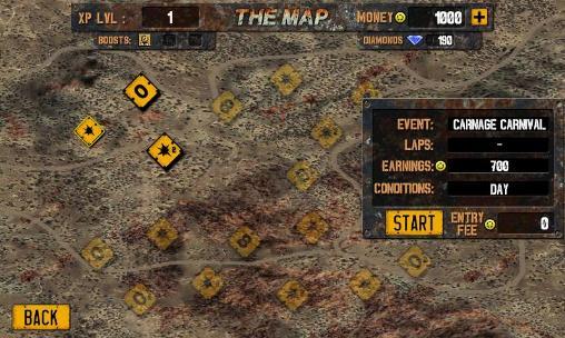 Rennspiele Demolition derby: Crash racing für das Smartphone