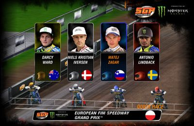 Racing games: download Official Speedway GP 2013 to your phone