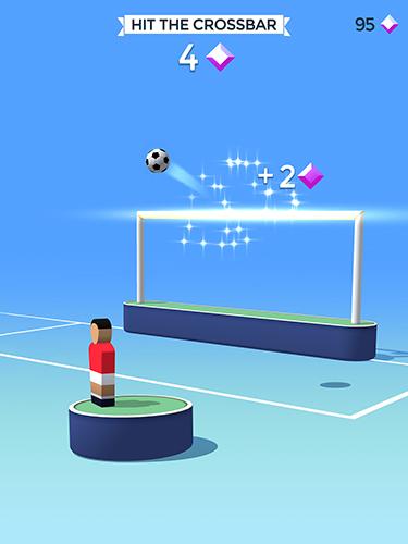 Arcade-Spiele Pop it! Soccer für das Smartphone
