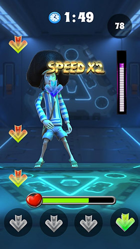 Arcade Dance tap revolution für das Smartphone