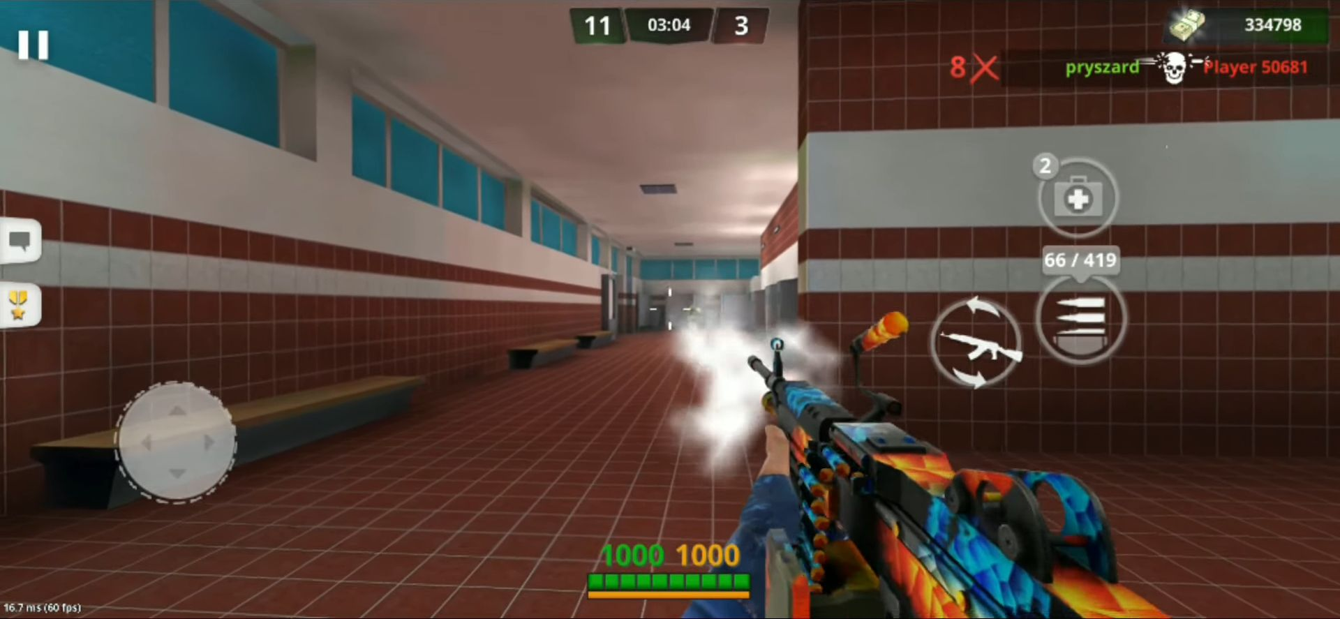 Special Ops: FPS PvP War-Online gun shooting games captura de tela 1