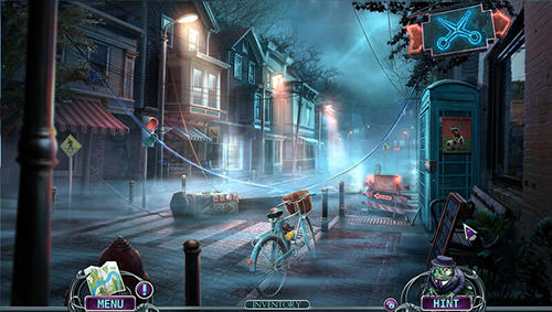 Adventure games Mystery trackers: Mist over Blackhill for smartphone