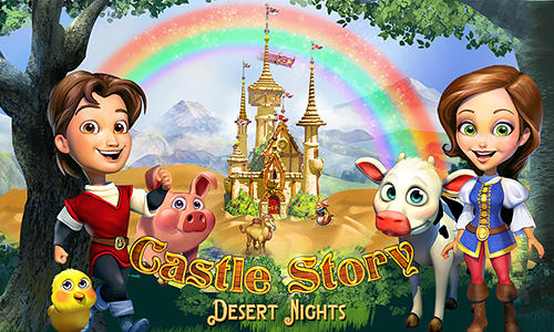 Castle story: Desert nights Screenshot