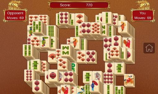 Multiplayer (Bluetooth) Mahjong guru für das Smartphone